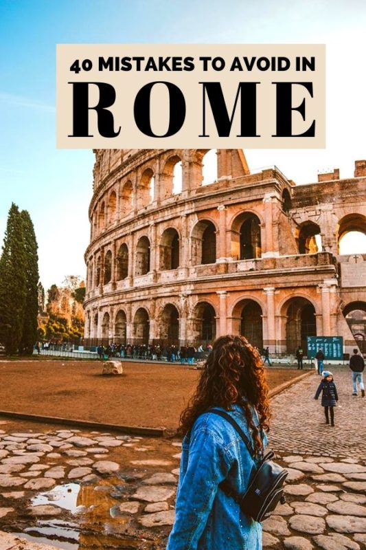 Mistakes in Rome