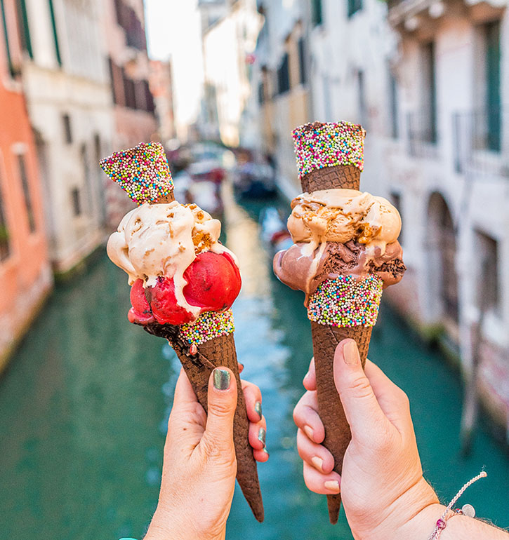 What to Eat in Italy Gelato