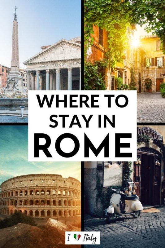 Wondering where to stay in Rome? You've got so many choices in the Eternal City, but I'll walk you through the best place to stay in Rome so you can enjoy the trip of your dreams! #rome #hotel #airbnb