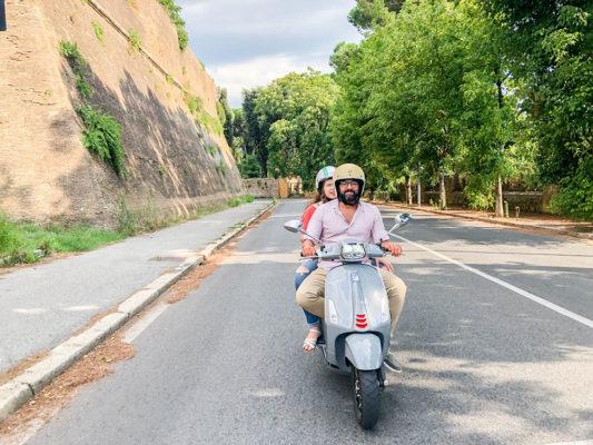 Vespa Tour Rome