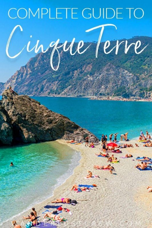 Cinque Terre Italy is a beautiful region on the Italian Riviera consisting of 5 idyllic town. Discover the beaches, towns, food, and culture of incredible Cinque Terre