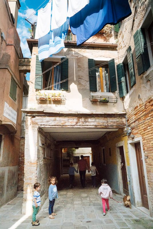 Venice alleyways